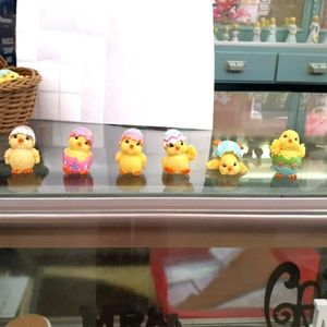 Baby chick figurines